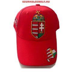 Hungary Baseball - magyar címeres baseballsapka (piros, magyar válogatott) - Hivatalos szurkolói termék