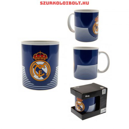 Real Madrid  bögre (csíkos) - hivatalos klubtermék