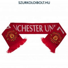 """Man UTD  / Manchester United sál """"Di Maria"""" - eredeti, hologramos szurkolói sál"""