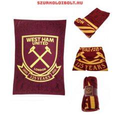West Ham United FC óriás takaró (átlós)- eredeti szurkolói termék!