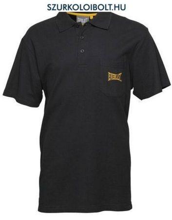 Everlast galléros póló - fekete