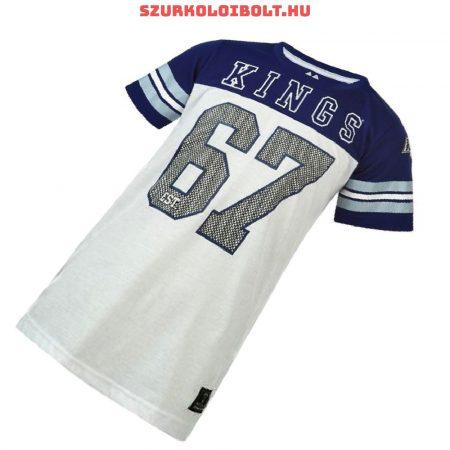 Majestic NHL Los Angeles Kings hivatalos gyerek póló - eredeti klubtermék (fehér-kék)