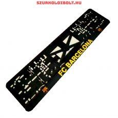 FC Barcelona rendszámtábla tartó (2 db) - eredeti, hivatalos klubtermék