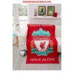 Liverpool FC polár takaró - eredeti, hivatalos klubtermék, szurkolói termék
