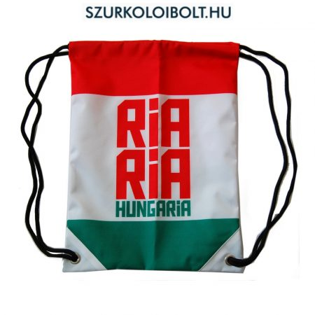 Magyarország zsinórtáska, tornazsák - eredeti, hivatalos klubtermék Ria Ria Hungária