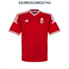 Adidas Magyar válogatott hivatalos hazai mez hímzett címerrel