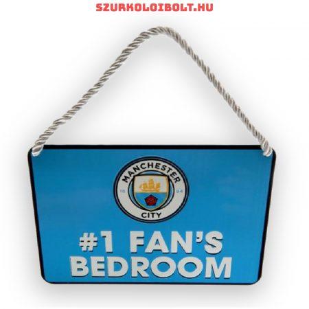 Manchester City FC legnagyobb szurkoló tábla - eredeti, hivatalos klubtermék