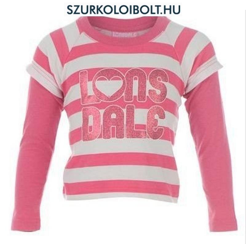 Lonsdale Love Tee hosszúujjú gyerek póló - Eredeti szurkolói ... 9597efb226