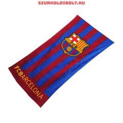 FC Barcelona szurkolói törölköző (csíkos)- liszenszelt klubtermék !!!