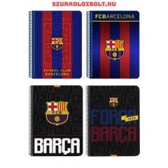 FC Barcelona spirál, kockás A/5-ös füzet
