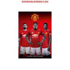 Manchester United A/3 naptár, a legnagyobb sztárokkal és sikerekkel