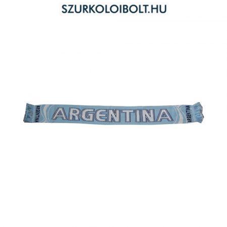 Hajrá Argentina kétoldalas kötött sál ( Argentina válogatott Nemzeti színű szurkolói sál) Hajrá Argentina!