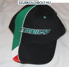 Italia Baseball Cap - fekete baseballsapka Italy felirattal (olasz válogatott)