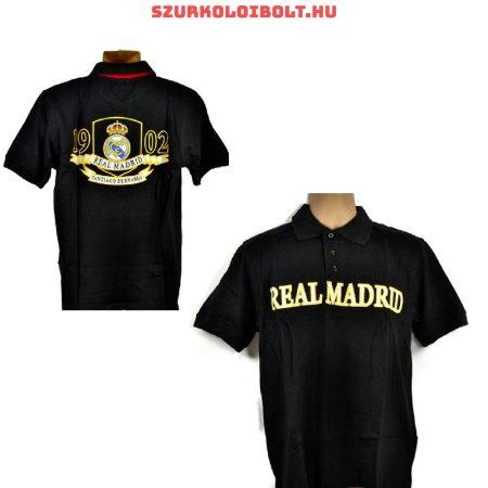 Real Madrid hivatalos ingnyakú szurkolói póló fekete - eredeti klubtermék