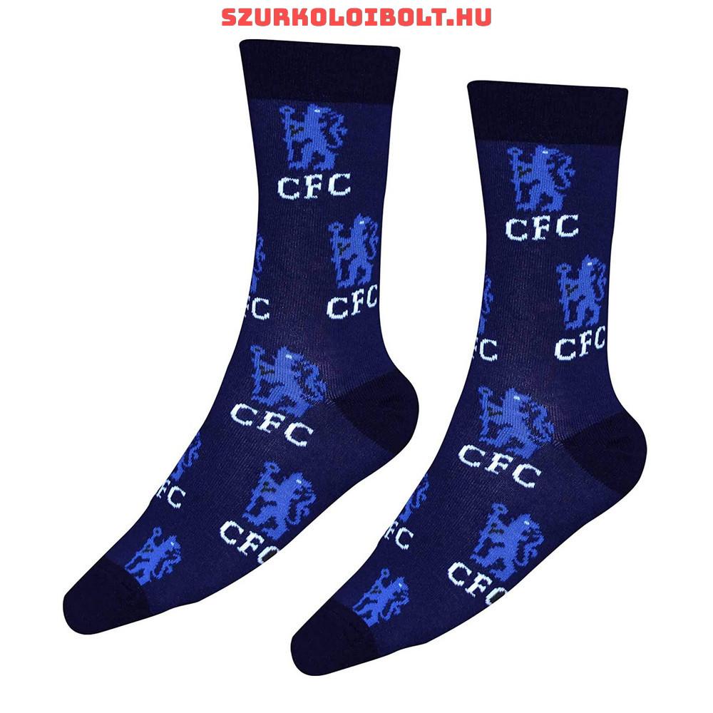 Chelsea FC címeres zokni (gyerek 31-36) - Eredeti szurkolói ... ba4a5fcffe