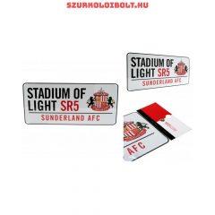 Sunderland AFC utcanévtábla - eredeti, hivatalos Sunderland AFC klubtermék
