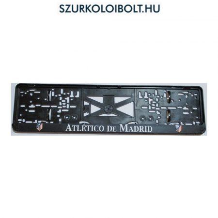 Atletico Madrid rendszámtábla tartó (2 db)- eredeti, hivatalos klubtermék
