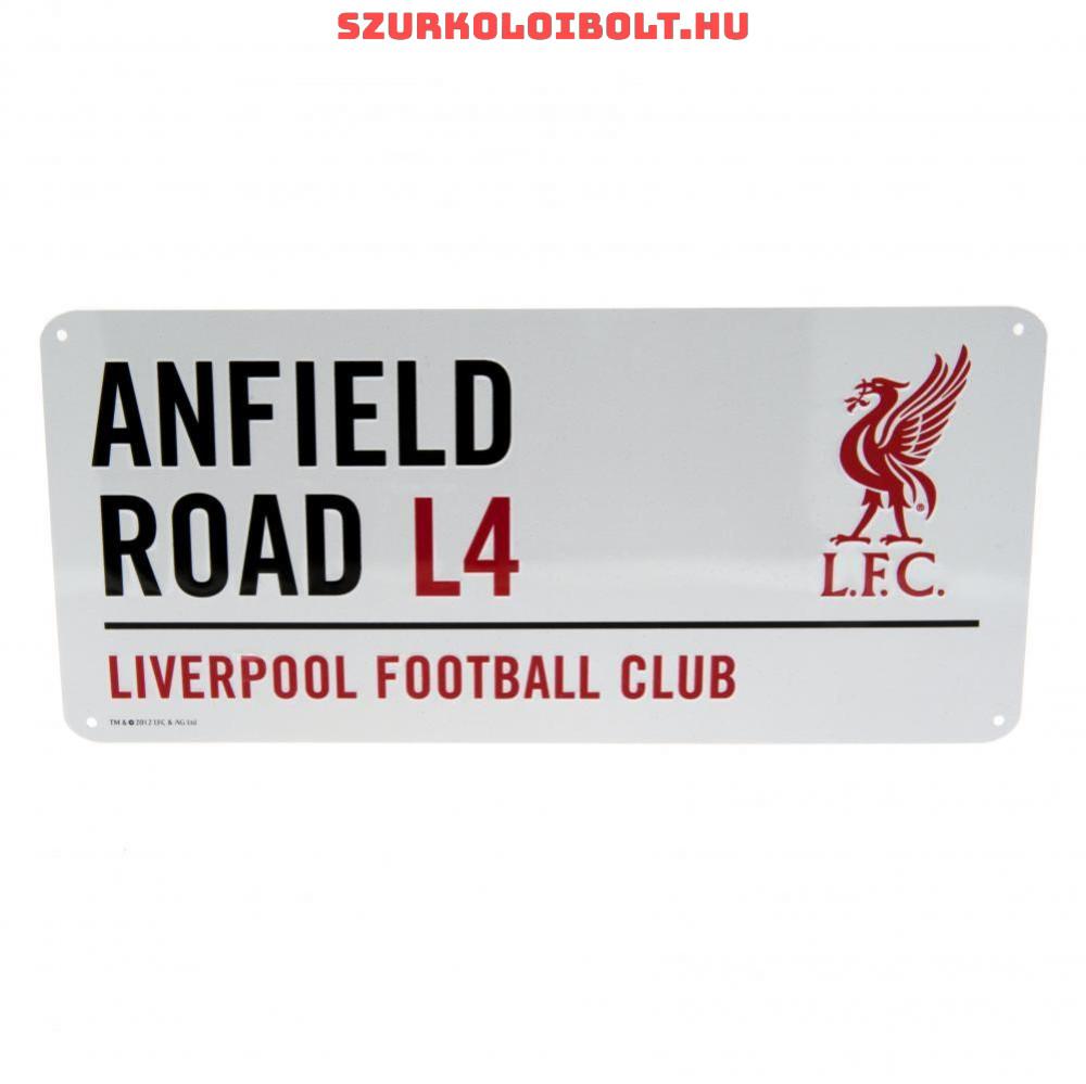 Liverpool FC utcanévtábla - eredeti 53ec6bad3d