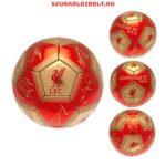 """Liverpool FC """"Signature"""" szurkolói labda - normál (5-ös méretű) Liverpool címeres focilabda a csapat tagjainak aláírásával"""