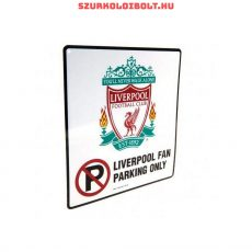 Liverpool FC FC parkoló szurkoló tábla - eredeti, hivatalos klubtermék