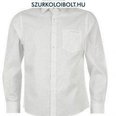 Pierre Cardin Longsleeve Check - hosszúujjú fehér kockás ing