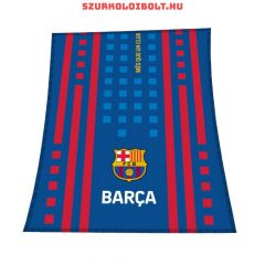 """FC Barcelona """"bordó-kék"""" takaró - eredeti, hivatalos klubtermék, szurkolói ajándék"""