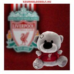 Liverpool FC plüss kabala maci a csapat pólójában.