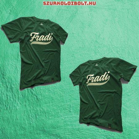 Ferencváros női póló - Ferencváros zöld streetwear póló