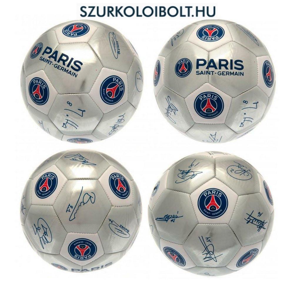 Paris Saint Germain signature Football - hivatalos Paris Saint Germain  fehér-kék focilabda (5-ös 11eea4691a
