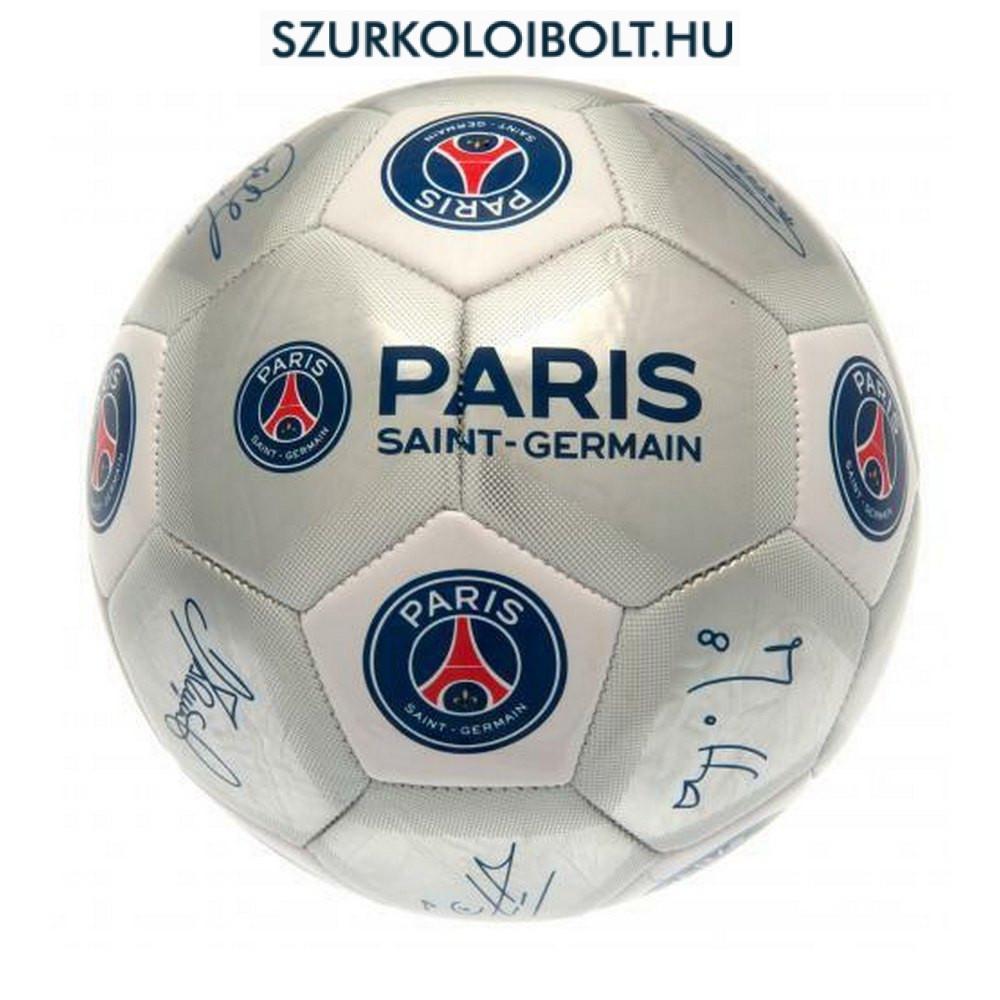 Paris Saint Germain signature Football - hivatalos Paris Saint Germain  fehér-kék focilabda (5 27e4f16162