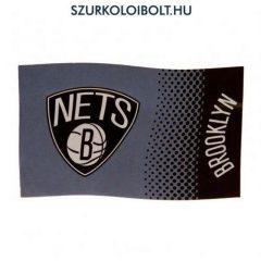 Brooklyn Nets - NBA nagy logós zászló (eredeti, hivatalos klubtermék)