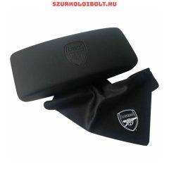 Arsenal Fc fekete szemüvegtok - gravírozott tok díszdobozos csomagolásban