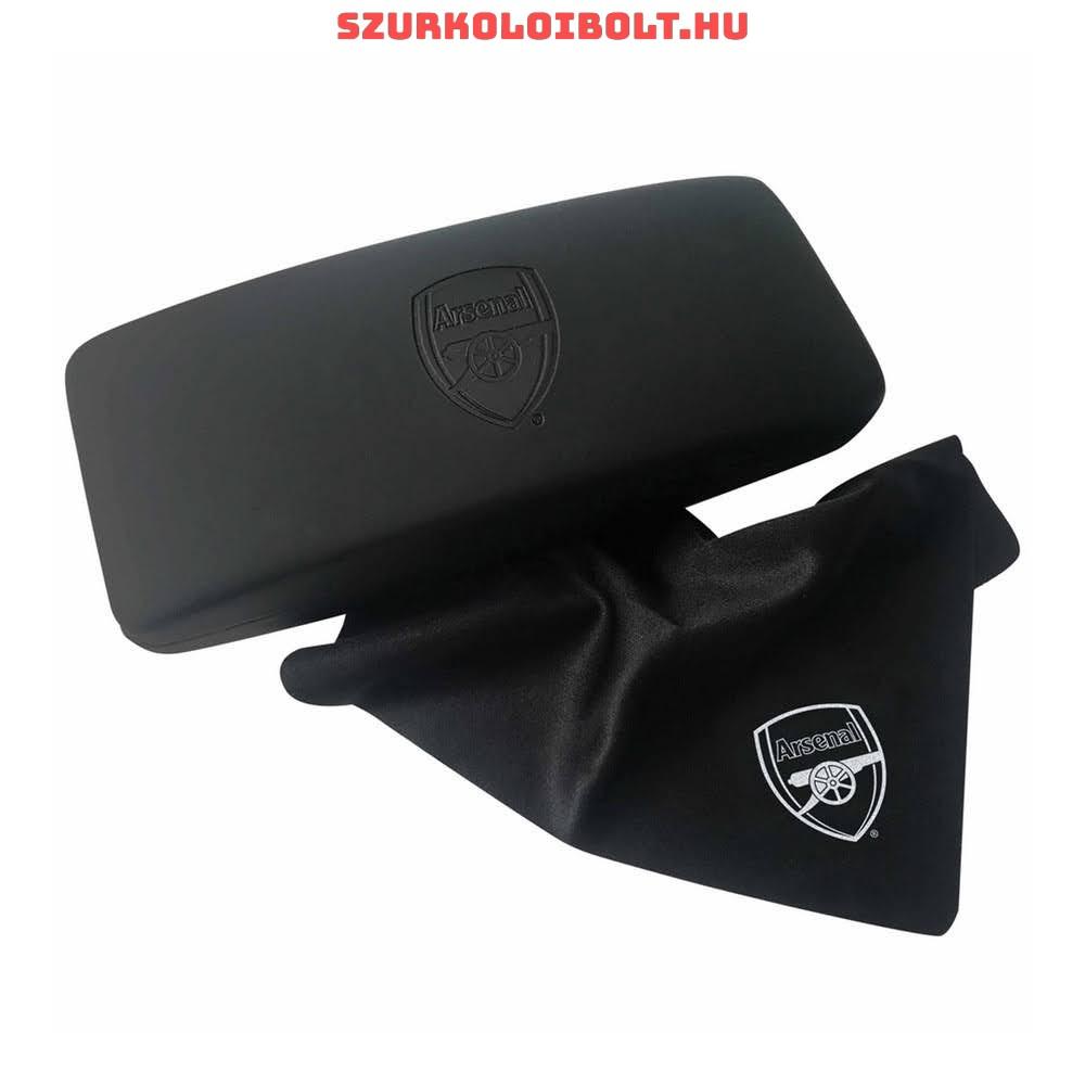 Arsenal Fc fekete szemüvegtok - gravírozott tok díszdobozos csomagolásban 5090e734cb