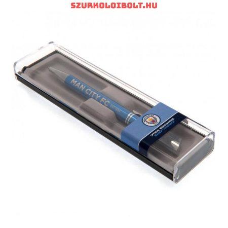 Manchester City díszdobozos golyóstoll (hivatalos, eredeti klubtermék)