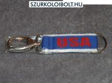 USA kulcstartó / karabíner USA felirattal
