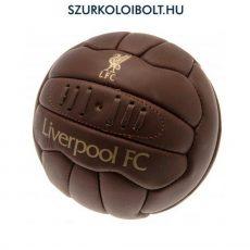 Liverpool labda - normál (5-ös méretű) Liverpool címeres szurkolói retro bőr focilabda